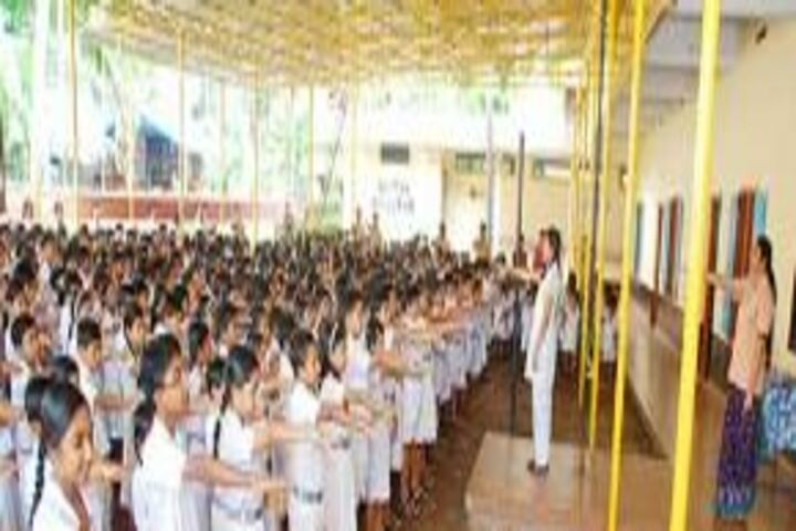 Chinmaya Vidyalaya-Morning Assembly