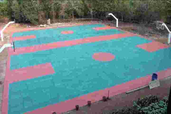 Chinmaya Vidyalaya-Basket Ball Court