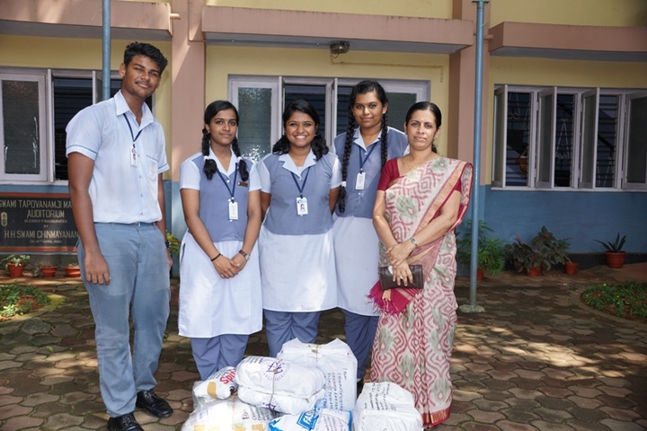 Chinmaya Vidyalaya-Kashmir Relief Fund Activity