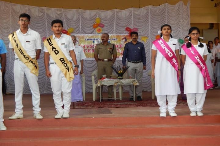 Chinmaya Vidyalaya-Investiture Ceremony