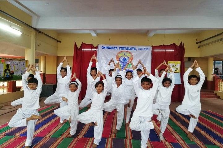 Chinmaya Vidyalaya-Yoga Day