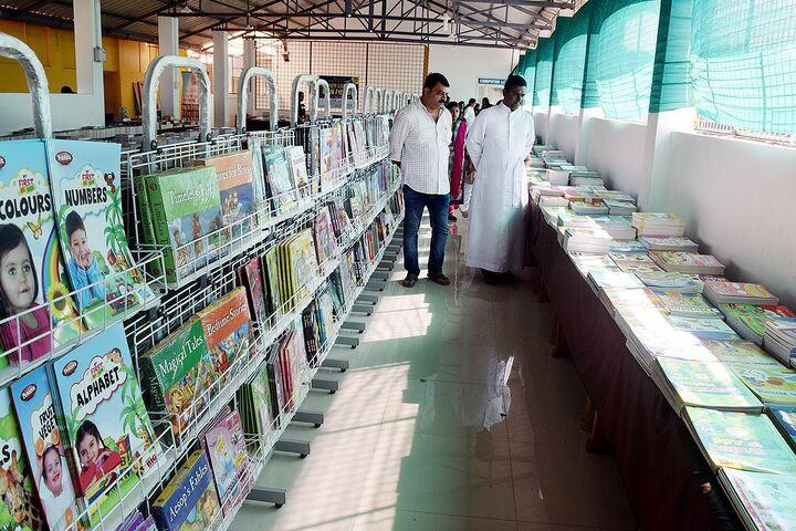 Christ Cmi Public School-Book Fair