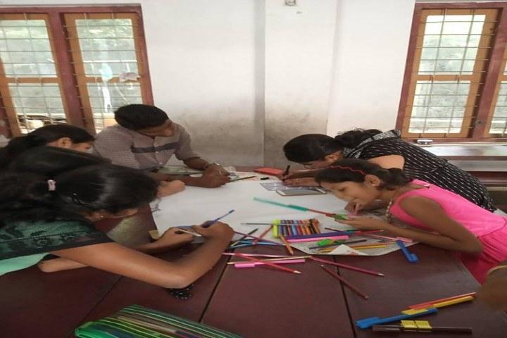 Christhujyothi English Medium School-Drawing