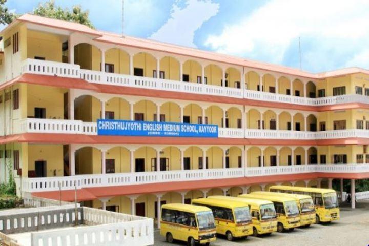 Christhujyothi English Medium School-Campus Building