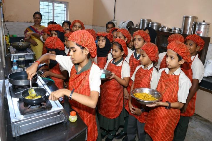 Christva Mahilalayam Public School-Activity