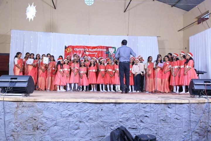 Christva Mahilalayam Public School-Christmas Celebrations