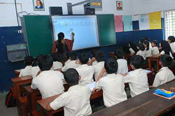 Christva Mahilalayam Public School-Classroom