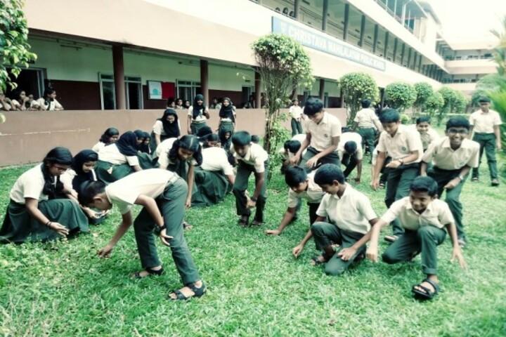 Christva Mahilalayam Public School-Environment Day