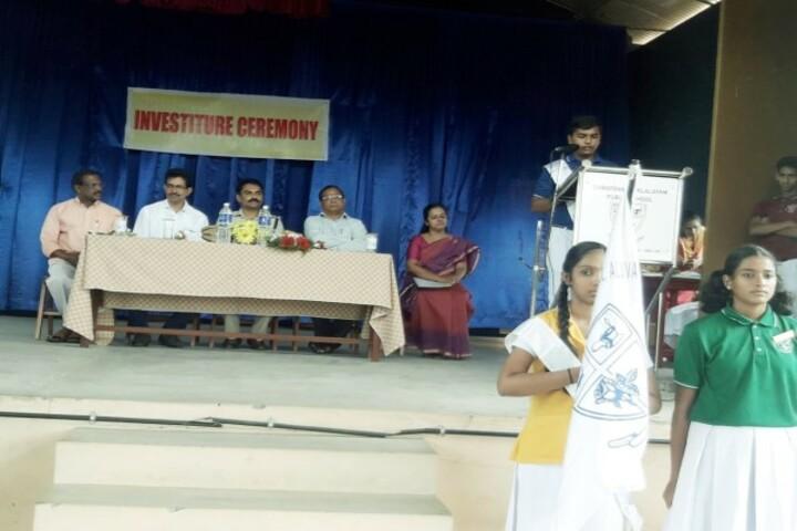 Christva Mahilalayam Public School-Investiture Ceremony
