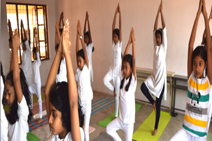 Cluny School-Yoga Activity