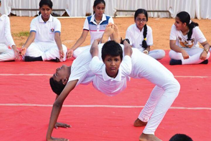 CMI Christ School-Gymnastics