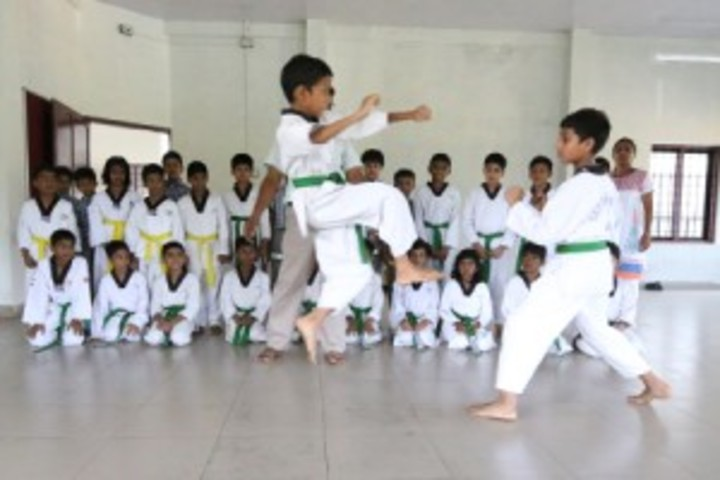CMI  Public School-Karate Activity