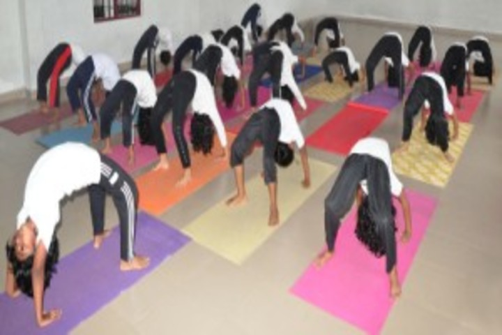 CMI  Public School-Yoga Activity