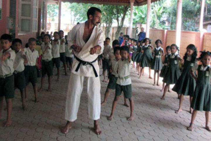 Co-Operative Public School-Karate Activity