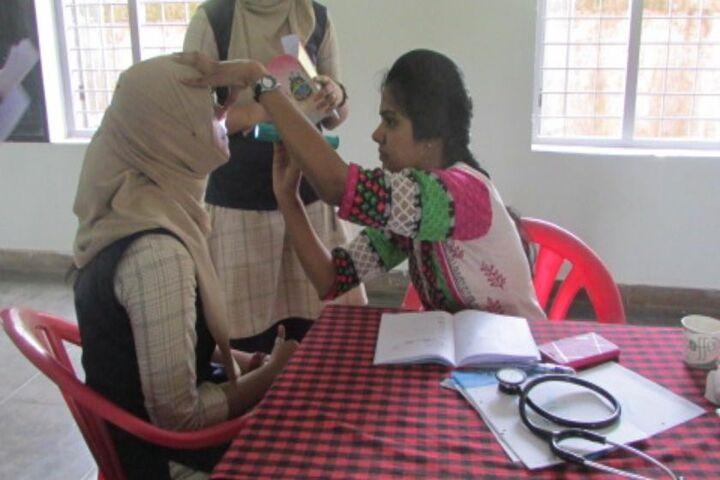 Crescent Public School-Medical Camp