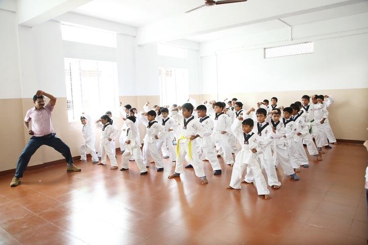 Crescent Public School-Karate Activity