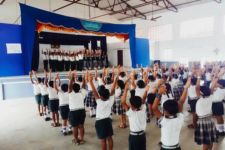Crossroads Central School-Yoga Day