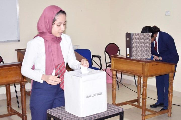 Dawn International School-Election Day