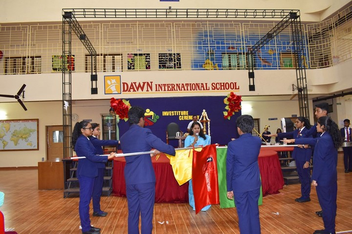 Dawn International School-Investiture Ceremony