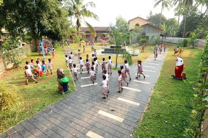 Dayapuram Residential School-Kids Park