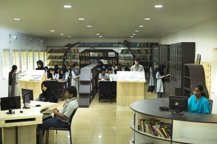 Dayapuram Residential School-Library