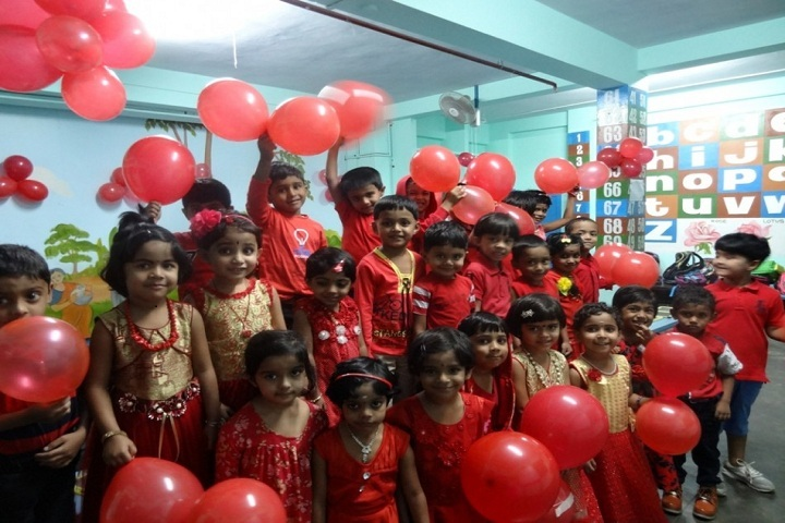 De Paul Public School-Pre Primary students