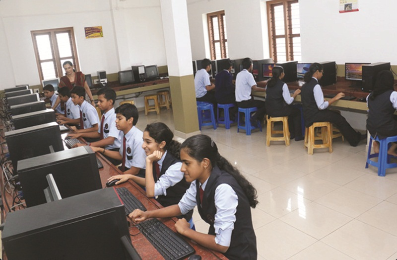 De Paul Public School-Computer Lab