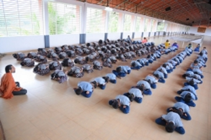 De Paul Public School-Yoga day