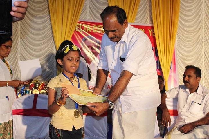 Delta Central School-Students prize