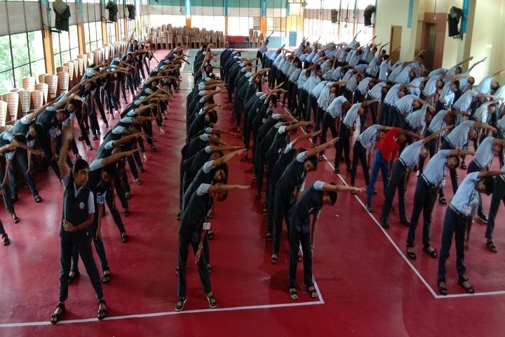 Devamatha CMI Public School-Yoga