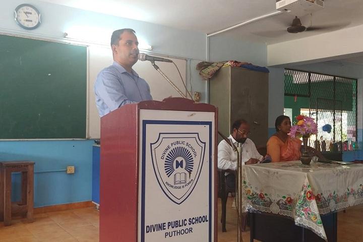 Divine Public School-National reading day