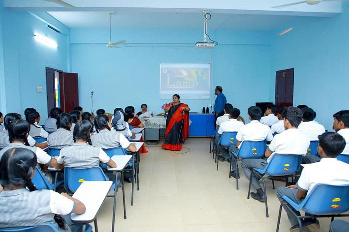 Divine Public School-Smart class room
