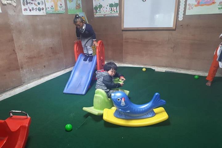 East Point English Medium School-Pre nursery play ground