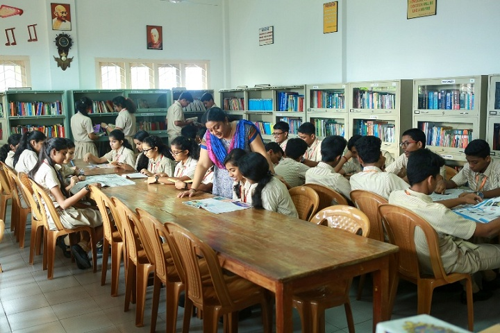 Ebenezer International Residential School-Library