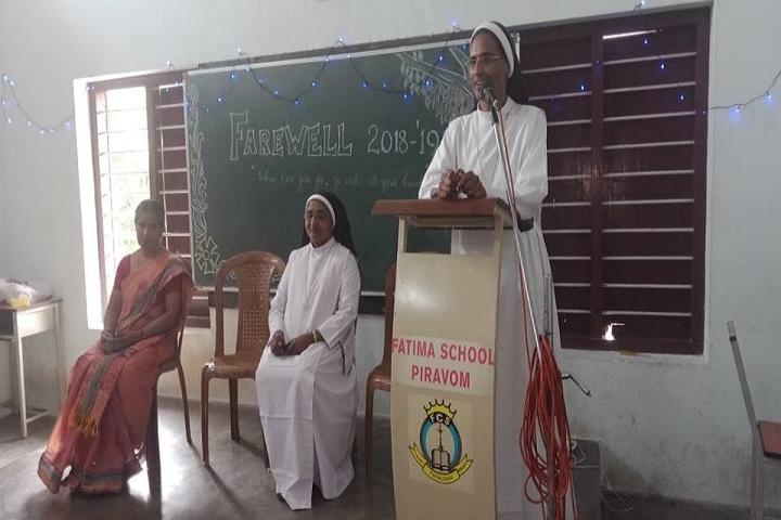 Fatima Central School-Fare well day