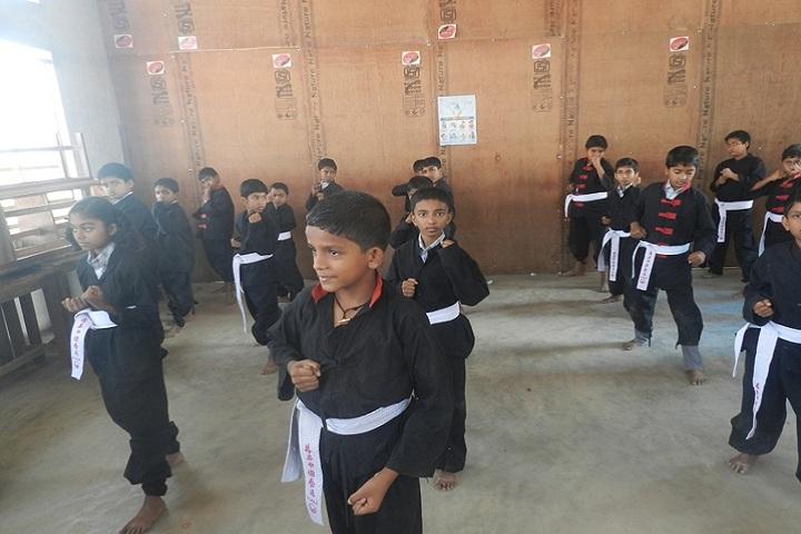 Fr Thomas Porukara Central School-Kung fu