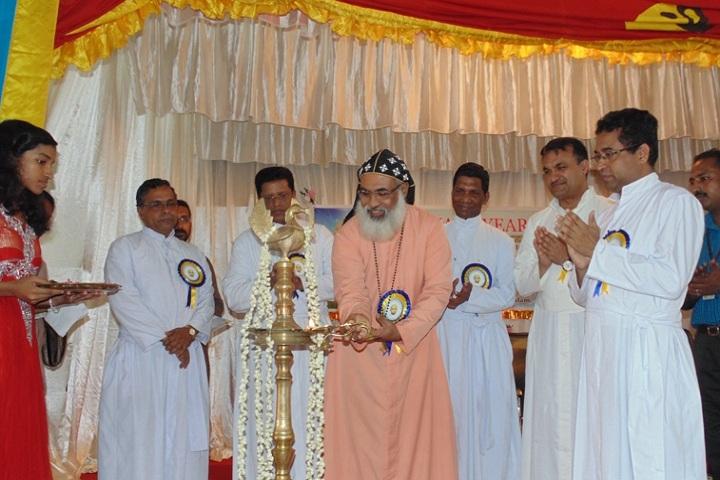 Fr Thomas Porukara Central School-Lighting the lamp