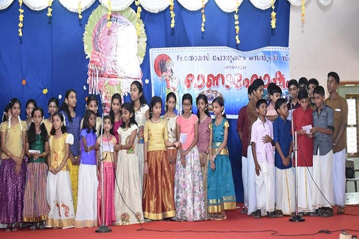 Fr Thomas Porukara Central School-Onam celebrations