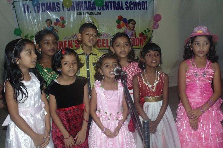 Fr Thomas Porukara Central School-Singing