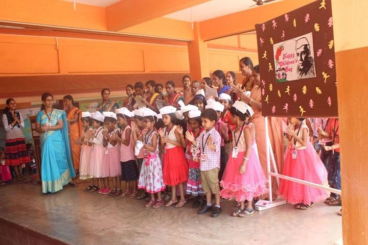 Fusco English Medium School-Childrens  day