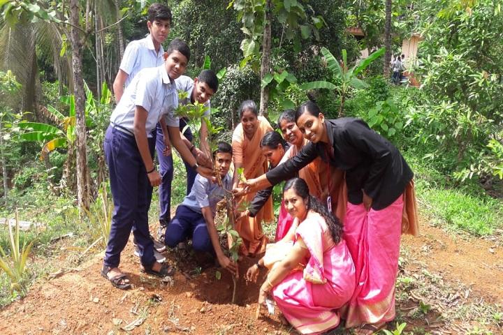 Fusco English Medium School-Environmental day