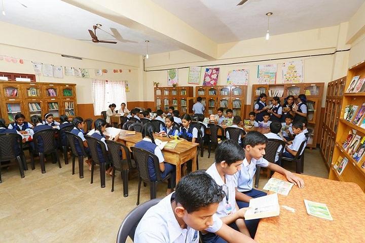 Fusco English Medium School-Library