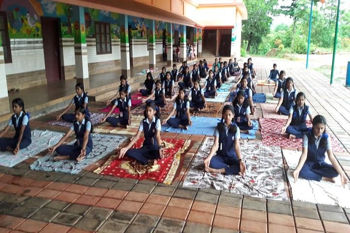Fusco English Medium School-Yoga
