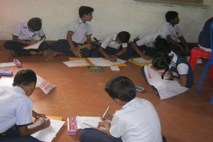 Gangothri English Medium School-Painting competition