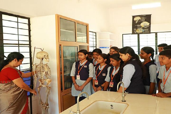 Gayathri Central School-Science lab