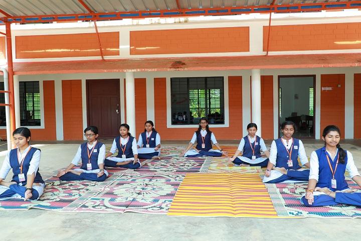 Gayathri Central School-Yoga