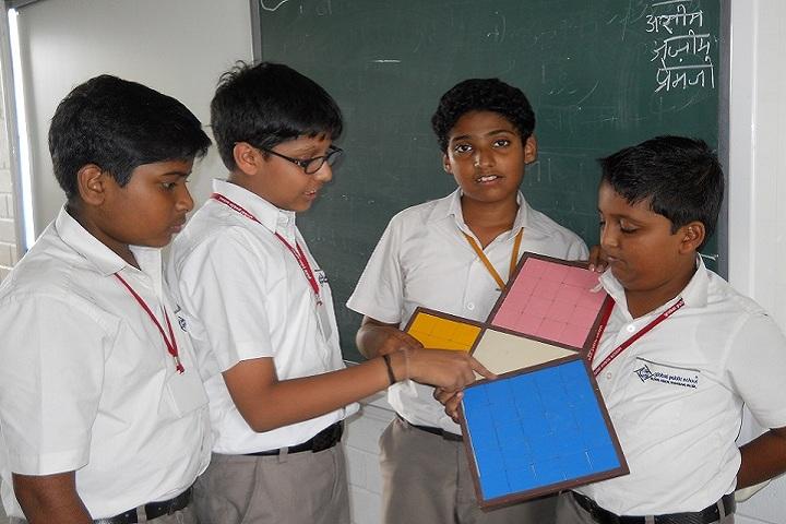 Global Public School-Maths project