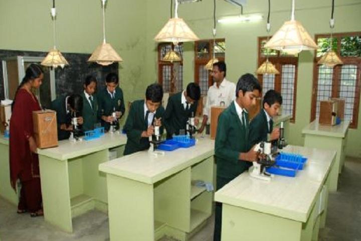 Grace Garden Public School-Biology lab
