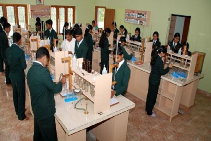 Grace Garden Public School-Chemistry lab