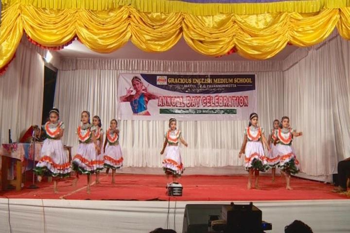 Gracious English Medium School-Group dances
